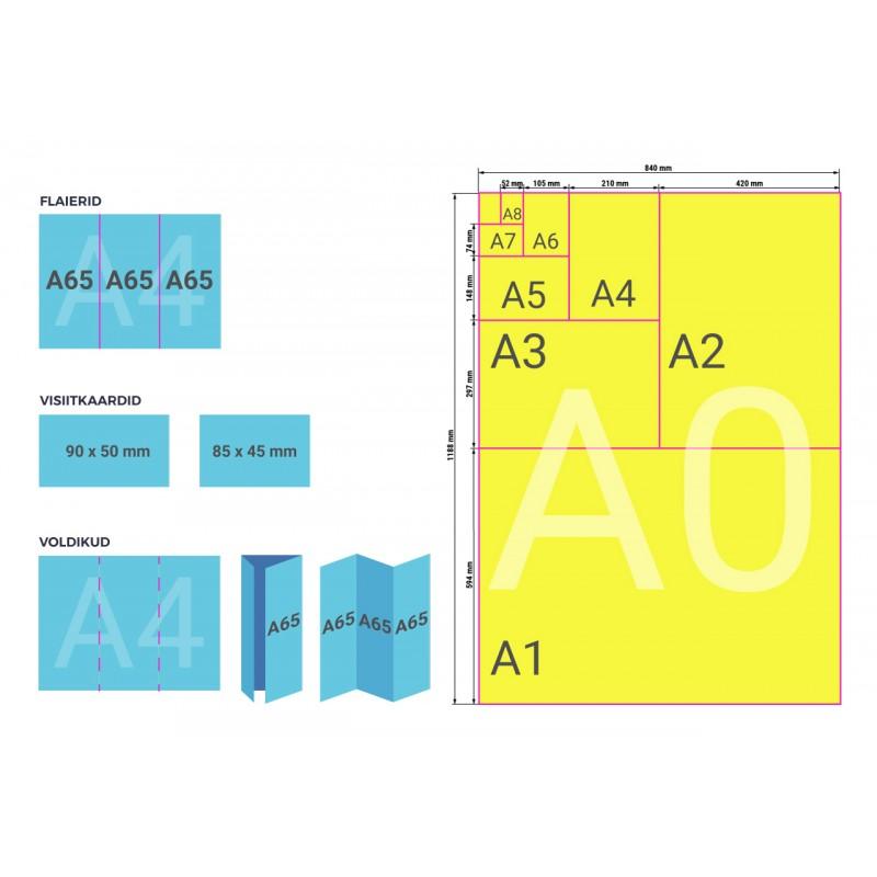Disaini ise visiitkaart (kahepoolne)